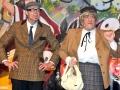 Dem Verbrechen auf der Spur - Ralf Brakopp, als Miss M.Arpel und Detektiv-Kollege Mr.St