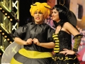 Janet Bok als Mummel Wilhelmine und Julia Bland als Biene Maier aus Betra