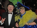 Sie schwelgen in blau-gelben Erinnerungen - Michael Theurer und Frau Engeln